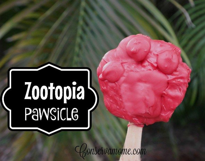 Fun and Easy recipe for making a Zootopia Pawsicle ! #zootopia #Pawsicle
