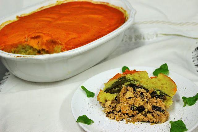 Entre Tachos e Sabores: O blogues foram à horta biológica...e a receita do Empadão de batata doce Vegan!