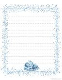 Blue Fairy Stationery