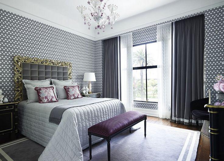 Die besten 25+ Geometrische bettwäsche Ideen auf Pinterest - wohnzimmer lila grau
