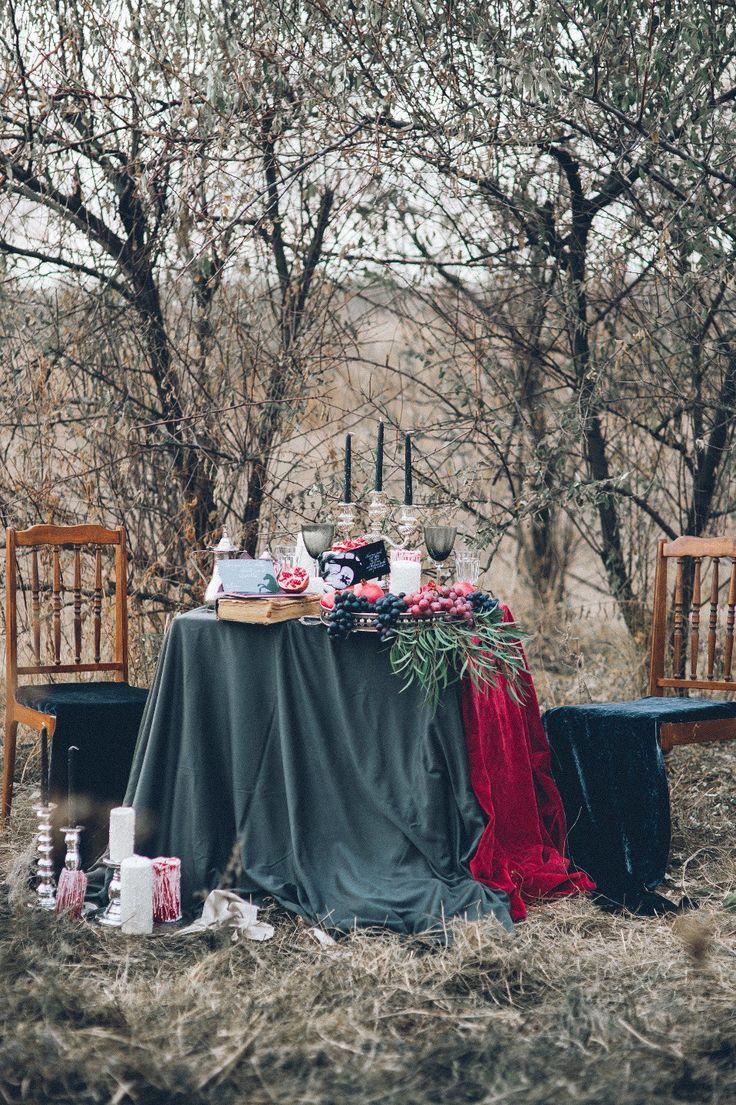 Легенда о сонной лощине: стилизованная фотосессия - The Bride