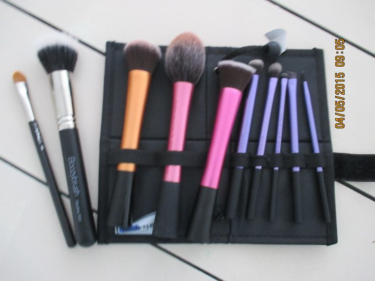 My brushes...Real Techniques, MAC Concealer and Boozy shop