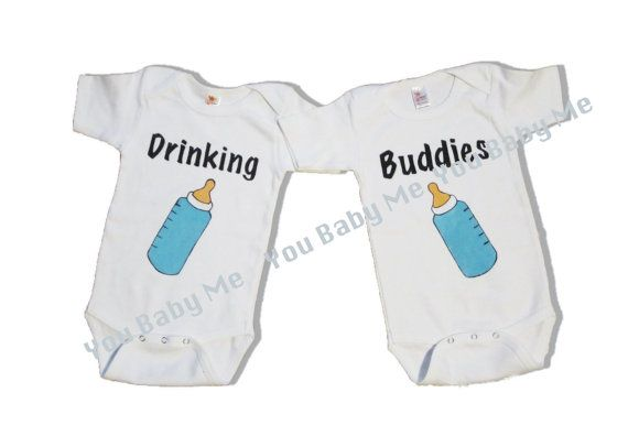 Cute Clothes For Twin Babies Hands Paintings Baby Outfits