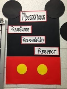 mickey mouse bulletin boards - Google Search