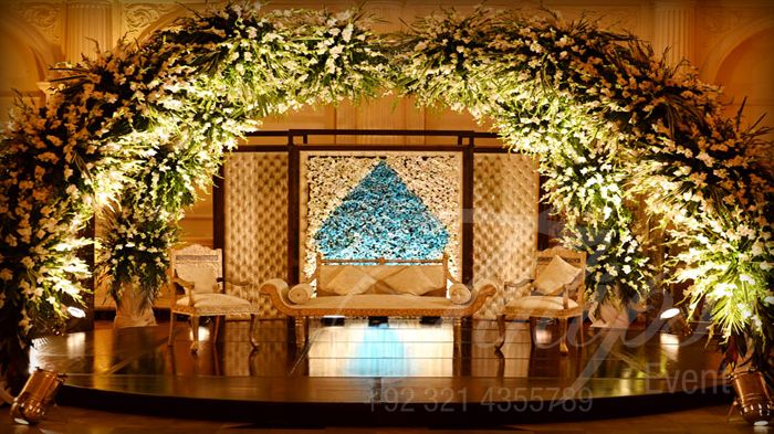 Tulips Events is the Top and Best Wedding Planner in Pakistan, Provides services for Stage Decoration and floral arrangements.  For more: www.tulipsevent.com