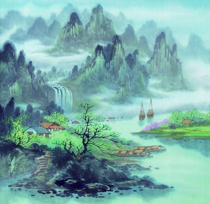 Resultado de imagem para pintura chinesa