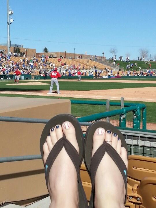 Baseball Toe's by Wendy Euphoria Salon - North Las Vegas,  NV