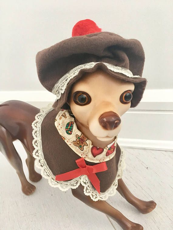 Dog Christmas outfit by FiercePetFashion