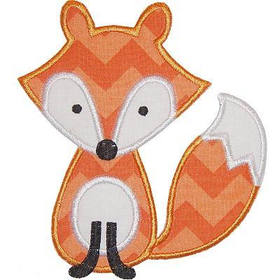 Fox Applique - love him!