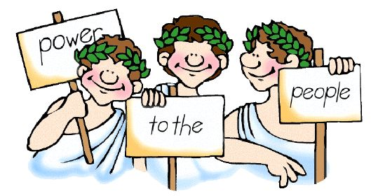 Democracy: a Greek myth http://artsandculturereviews.wordpress.com/2014/07/29/democracy-a-greek-myth/