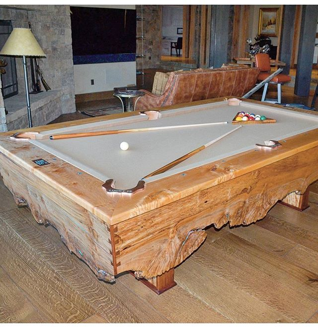 Another shot of this beauty from @roaring_fork_custom_billiards, can't get over this beauty! . . #woodworkforall #dowoodworking #woodwork #woodworking #wood #woodturning #woodporn #glass #river #kitchentable #rusticdecor #rustic #crafting #table #likesforlikes #like4like #ryobination #rigidnation #dewalt #craftsman #handmade #custommade #utah #bench #pool #pooltable #billiards #marketing