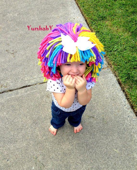 Clown Costume Halloween Costume Clown WIg Dress up by YumbabY, $29.95