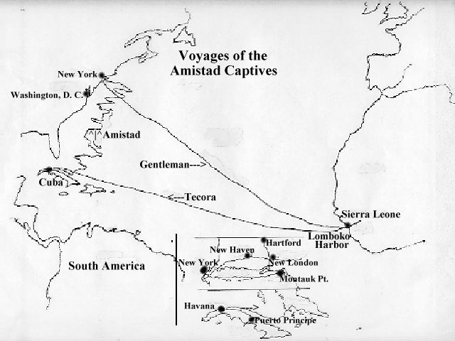 An analysis of the slave revolution on amistad in 1839