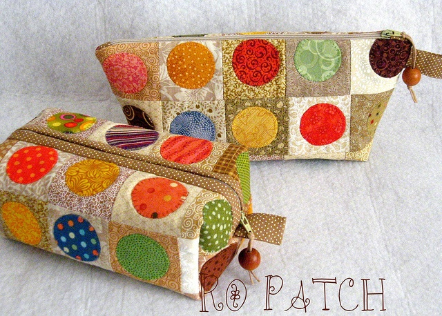 patchwork box pouch...By Rô Patch