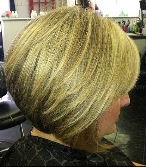 Short Hairstyles Over 50 Hairstyles Over 60 A Line Bob