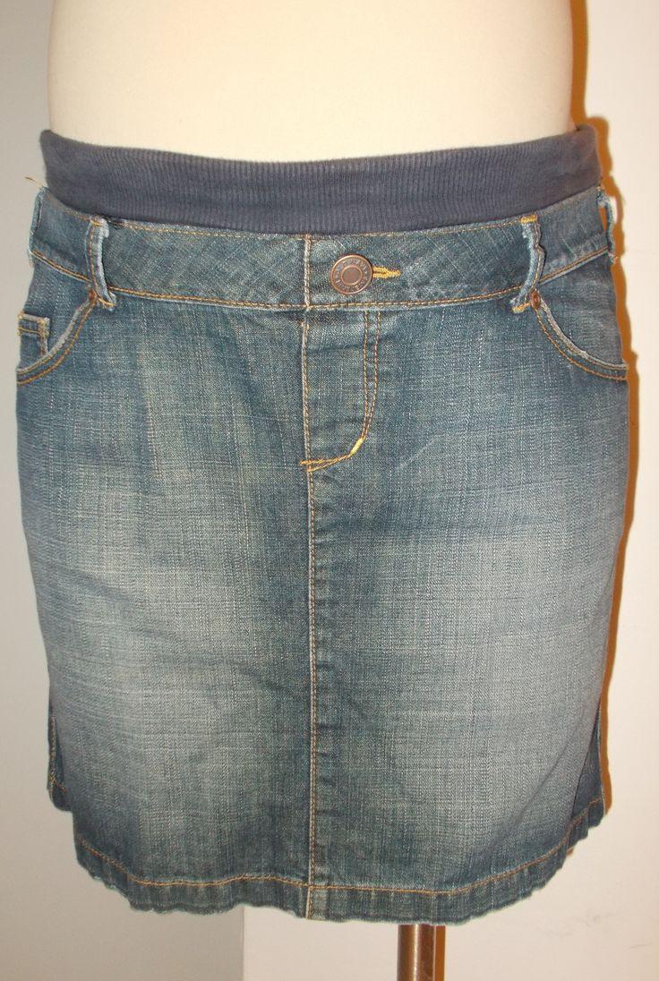 Old Navy Maternity - Denim Skirt with Back Slit
