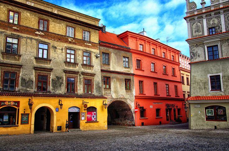 https://flic.kr/p/kUrDXe   Akwarelka czyli trochę kolorów bo dziś był zły dzień. Lublin, Poland February 2014   A little colors, because today was a bad day.Poland Better in fullscreen