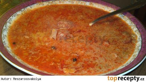 """""""Korhely leves""""- Opilecká polévka - vyprošťovák"""