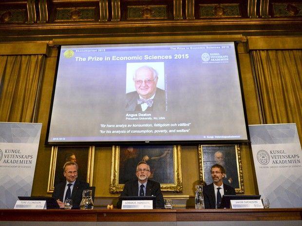 Angus Deaton vence o Nobel de Economia (Foto: Reuters)