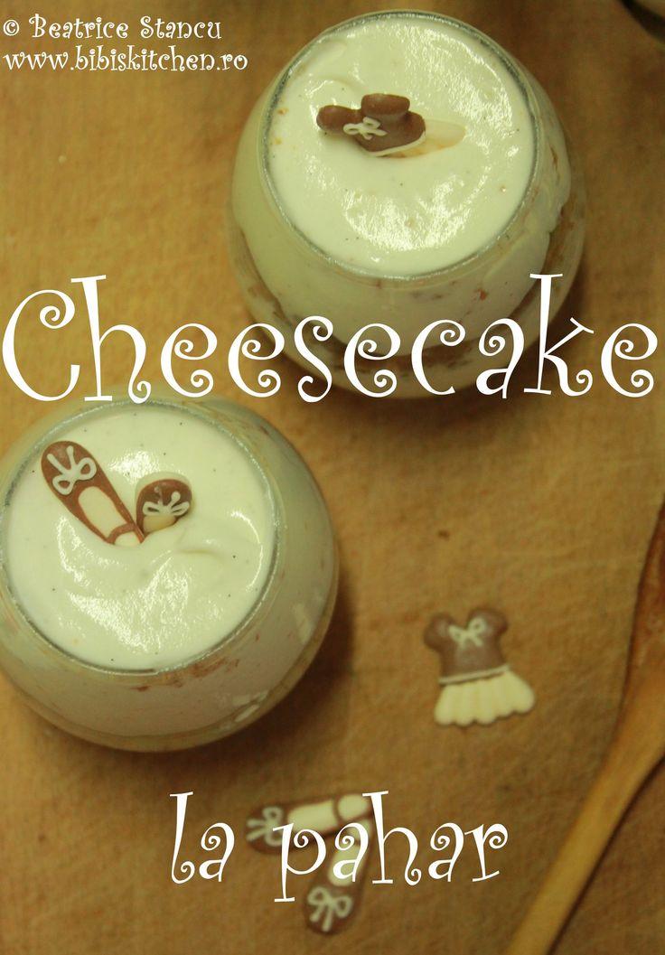 Cheesecake la pahar | Bibi's Kitchen