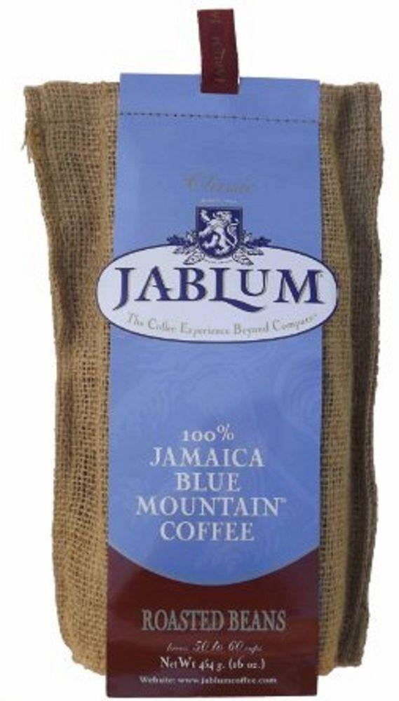 jablum 100 percent jamaica blue mountain coffee organic roasted beans 2 lbs #Jablum