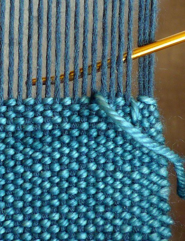 Finishing withHemstitch - Weaving Tutorials - Knitting Crochet Sewing Embroidery Crafts Patterns and Ideas!