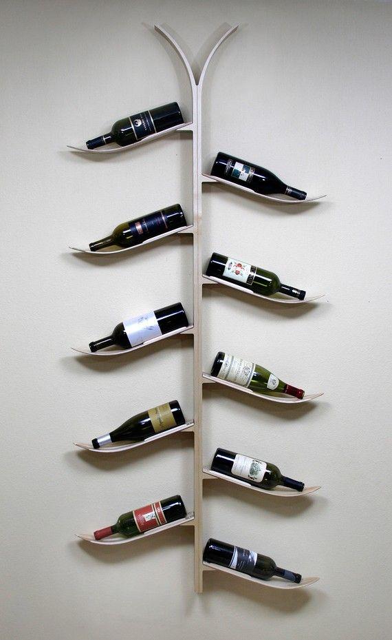Ski Rack Wine Holding