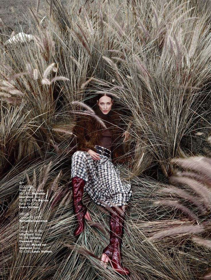aos pares: amanda fiore and luiza scandelari by nicole heiniger for l'officiel brasil april 2015