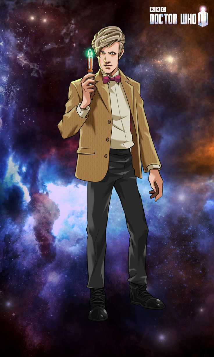 Matt Smith, the 11th Doctor, from the mobile game Doctor Who: Legacy!