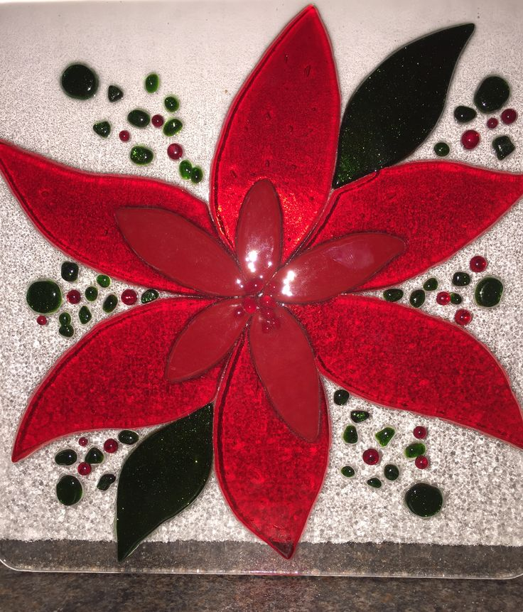 Fused glass - Christmas