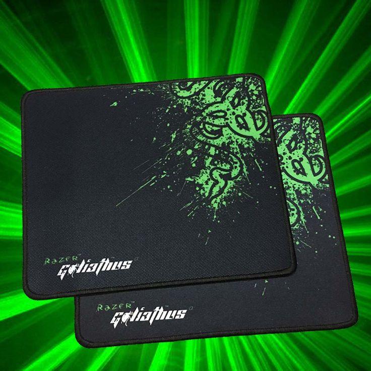 Promosi razer goliathus gaming mouse pad 300*250*2 kecepatan penguncian tepi mouse mat/versi kontrol untuk diablo 3 cs dota2 mousepad