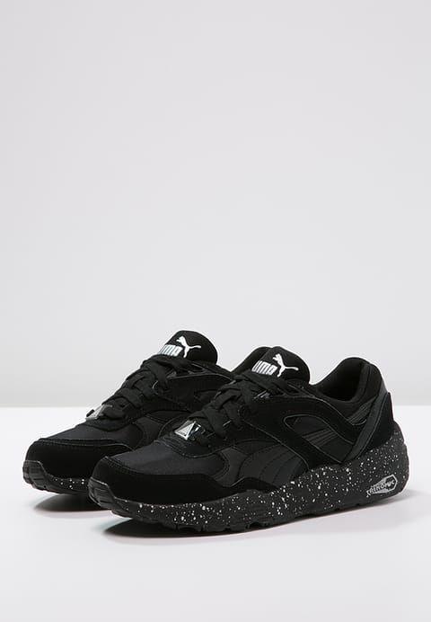 Suede Platform Animal, Sneakers Basses Femme, Noir Black-Silver 01, 38 EUPuma