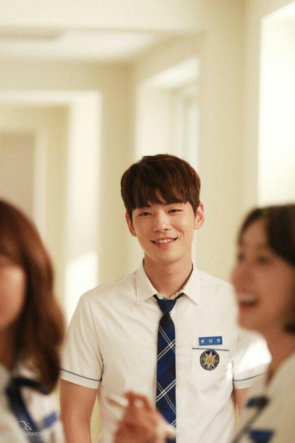 Kim Jun Hyun of School 2017 as Kim Tae Woon ❤