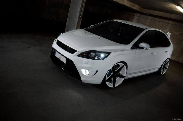 ford focus st mk2 facelift white tuning ford focus st tuning pinterest ford focus and ford. Black Bedroom Furniture Sets. Home Design Ideas