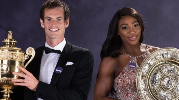 Wimbledon 2017: Serena Williams says female players 'love Andy Murray' http://www.bbc.co.uk/sport/tennis/40606775