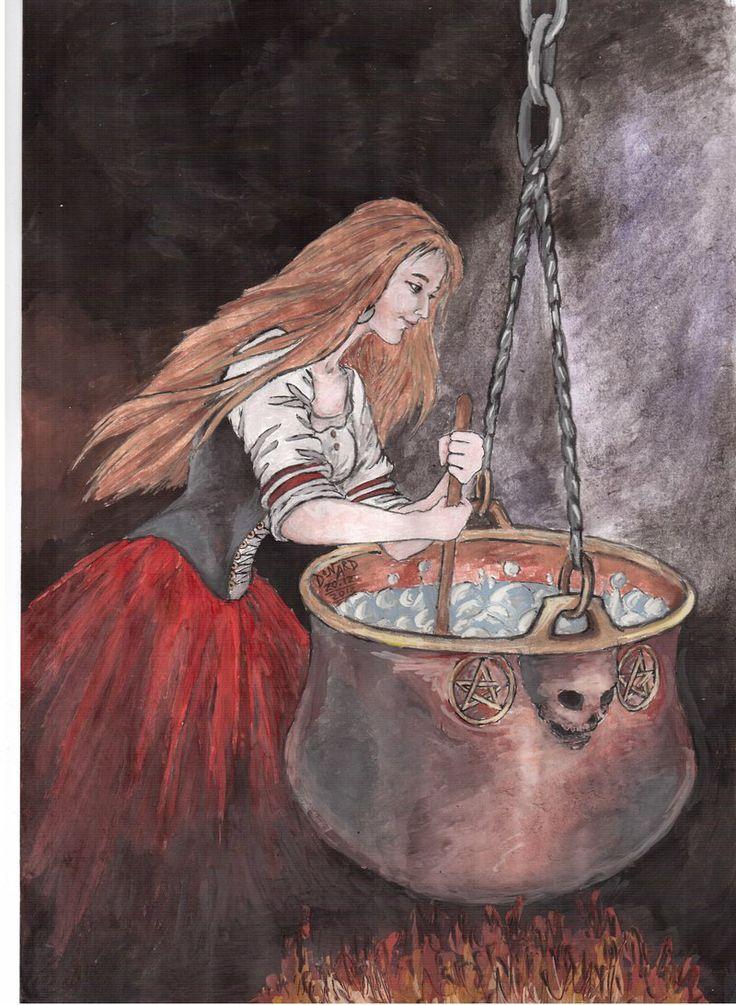 witch by donardillerodeviantartcom on deviantart - Halloween Witchcraft