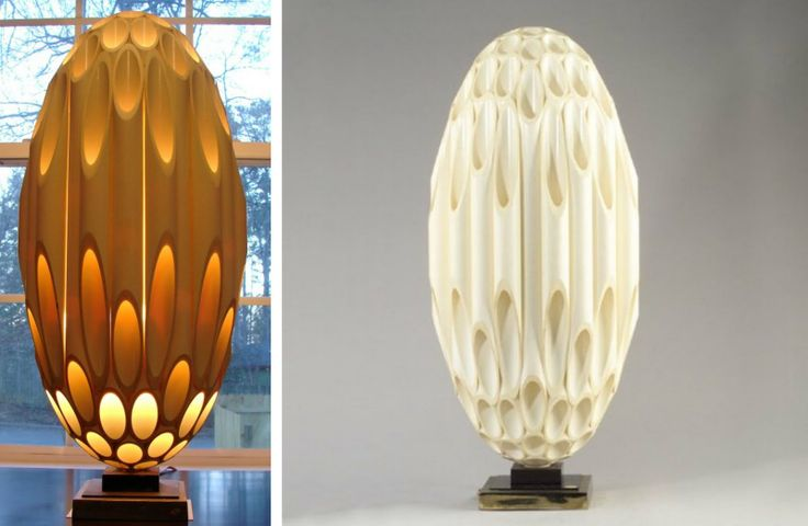 Rougier Ovid PVC lamp