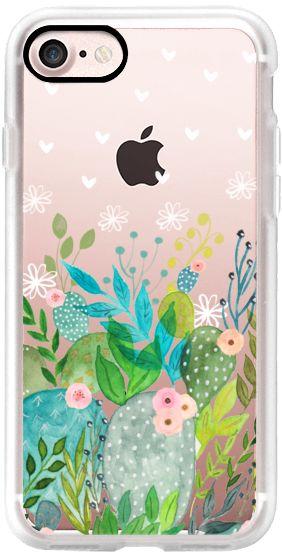 Casetify iPhone 7 Classic Grip Case - Cute Foliage by Li Zamperini Art #Casetify