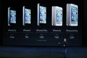 The History of the iPhone in 1 Simple Chart: The current iPhone lineup, 5S, 6 and 6S
