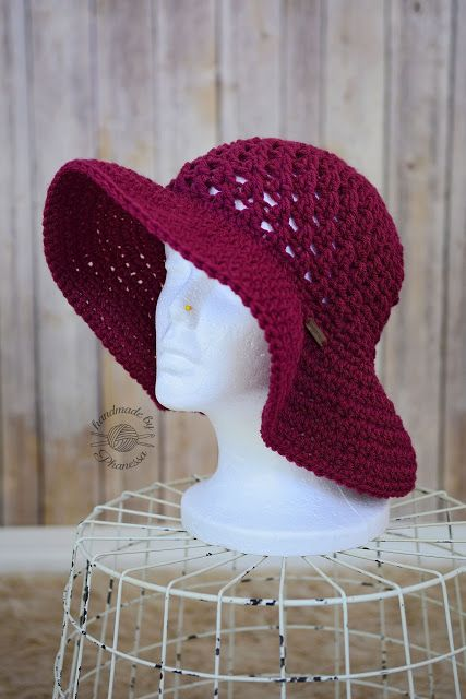 Crochet projects: Crochet Sun Hat Pattern