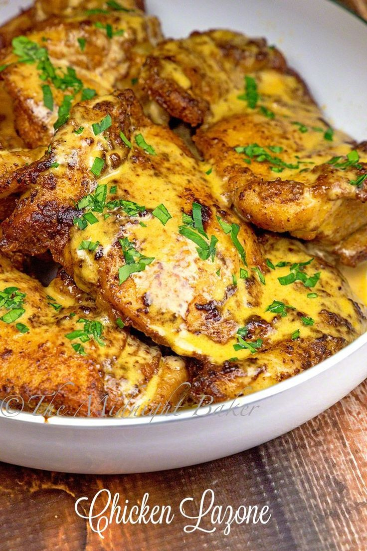 Chicken Lazone is made from a few every-day ingredients, but don't let that fool you–this one-skillet dinner is big on taste!