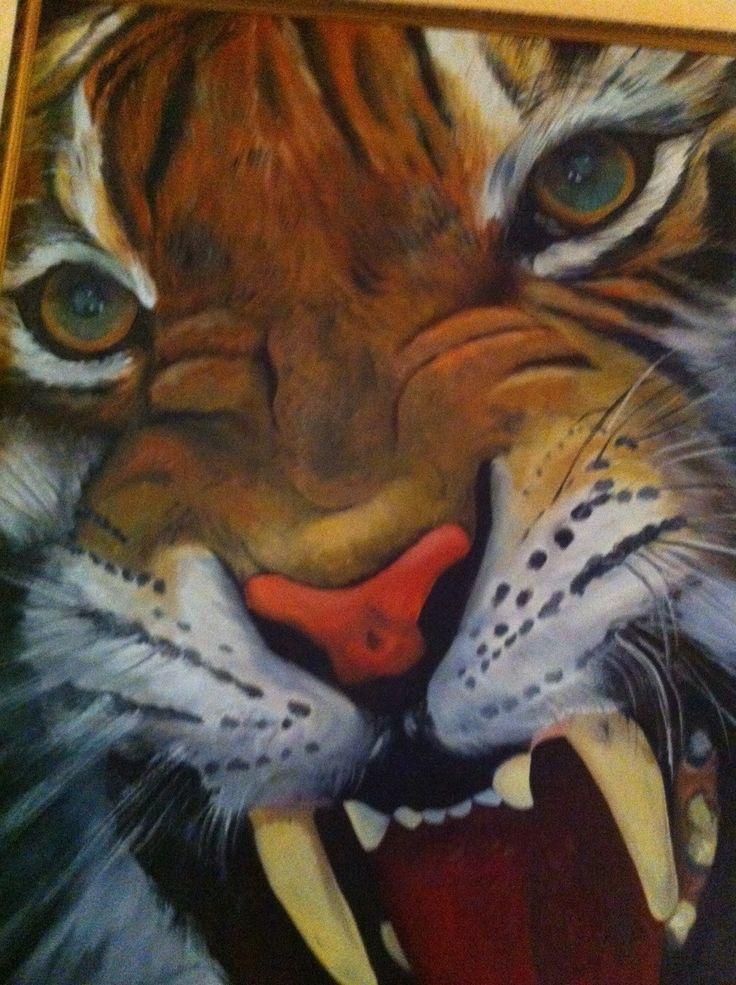 """""""Tigre"""" de la Colección Cuarta Dimensión de Isabel Gallardo Codelia."""