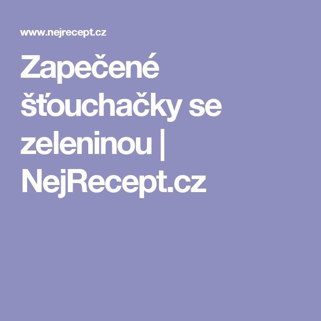 Zapečené šťouchačky se zeleninou | NejRecept.cz
