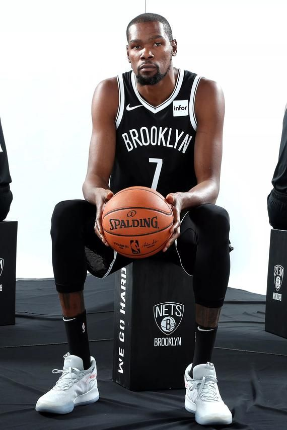 Brooklyn Nets Kevin Durant Poster 24x36 Inches Kevin Durant Posters Kevin Durant Kevin Durant Basketball