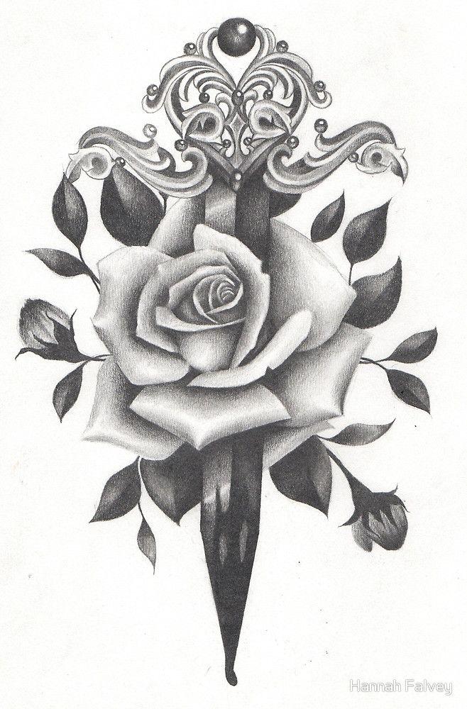 Rose and Dagger by Hannah Falvey