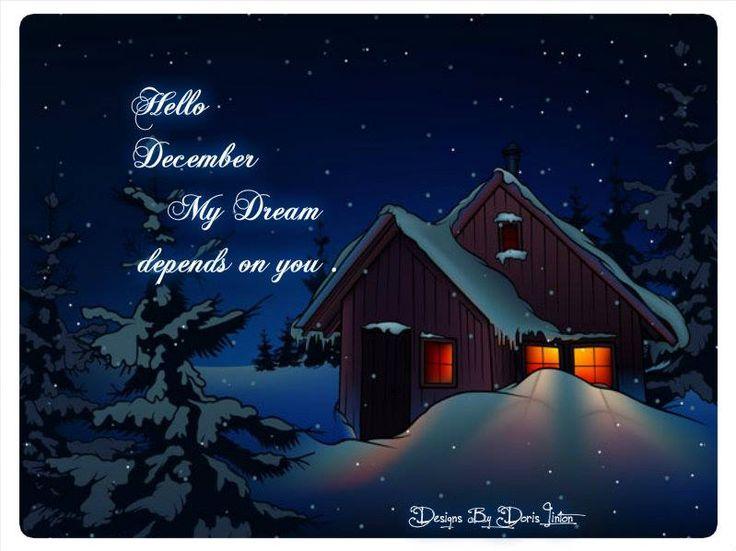 Welcome December ,