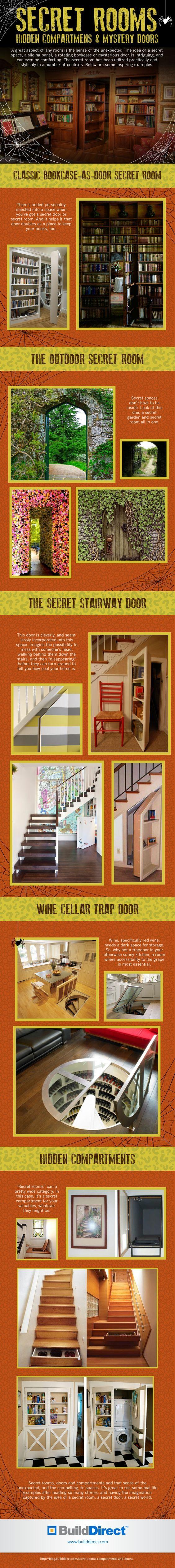 Secret Rooms Compartments Doors copy Secret Rooms, Hidden Compartments & Mystery Doors