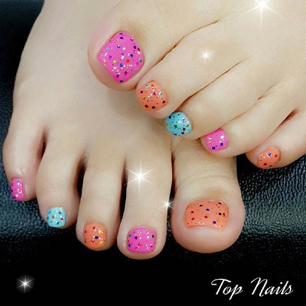 248 Creative Nail Art Designs For Girls Looking To Up: 1000+ Ideas About Summer Toe Nails On Pinterest