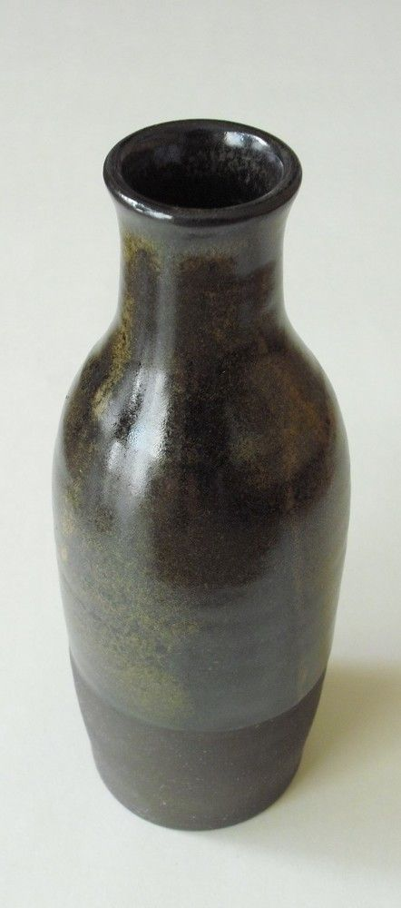 Tall Black and Brown Vase £68.00