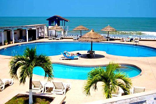 About Elmina Beach Resort, A Golden Beach Hotel, Ghana